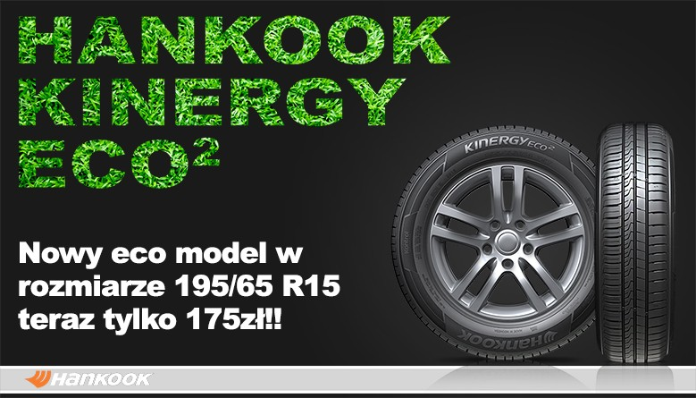 HANKOOK KINERGY ECO 195/65R15 91T